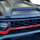 FRONT RADIATOR GRILLE WITH LED